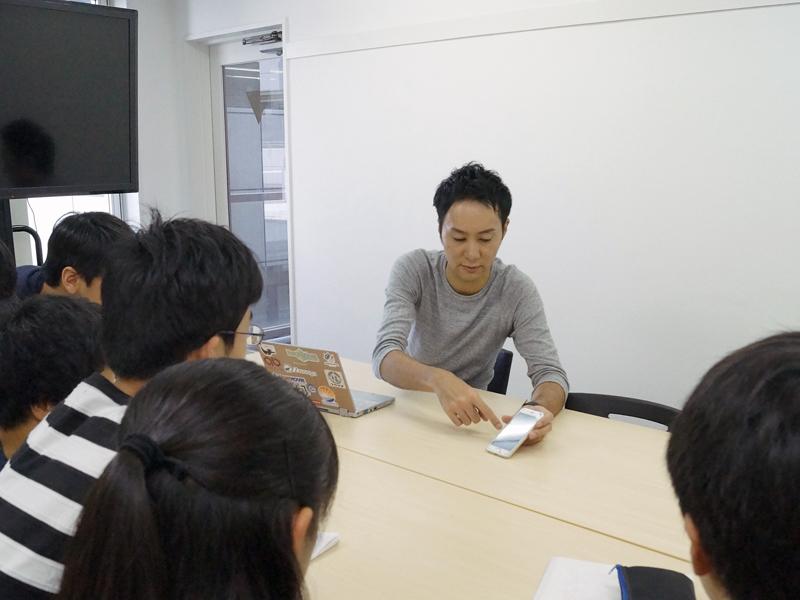 Kids Program 社長インタビュー風景