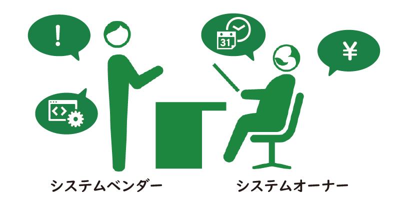 システムオーナーとベンダーの会話